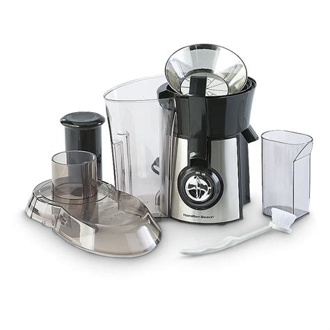 hamilton beach kitchen appliances hamilton beach 174 big mouth juice extractor 224529
