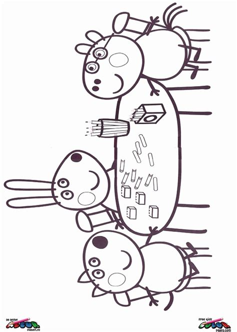peppa pig and friends coloring pages peppa pig coloring pages coloring home