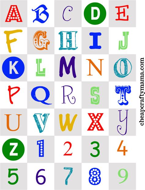 printable alphabet images free printable colored alphabet letters www pixshark com