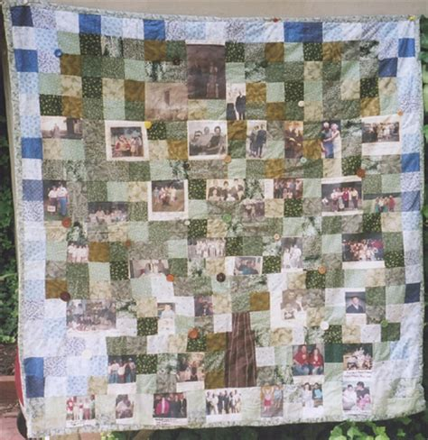 Family Tree Quilt Pattern by Quiltnancythompson
