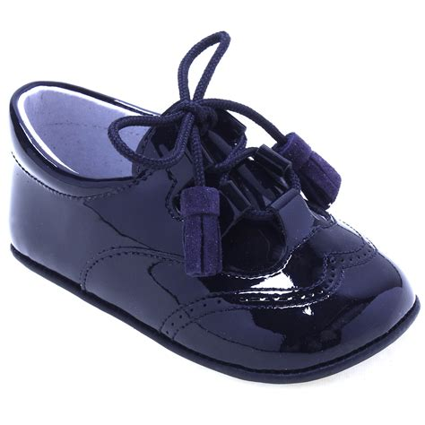 navy baby shoes baby boys navy patent shoes with tassels cachet