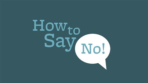how to say in your inner athlete how to say no gracefully