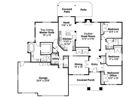 two story ranch style house plans house plans craftsman with basement style ranch two story soiaya luxamcc