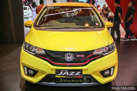 New Honda Jazz 1 5 Rs Cvt 2016 honda jazz rs cvt special edition showcased at giias 2016