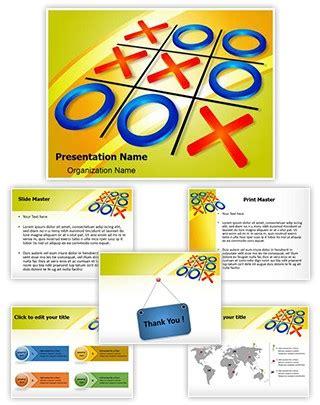 Professional Crisscross Tic Tac Toe Editable Powerpoint Template Tic Tac Toe Template Powerpoint