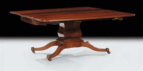 tavolo mogano tavolo in mogano allungabile xix secolo antiquariato e