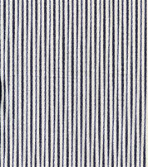 Mattress Ticking by Utility Fabric Mattress Ticking Blue Wide Jo