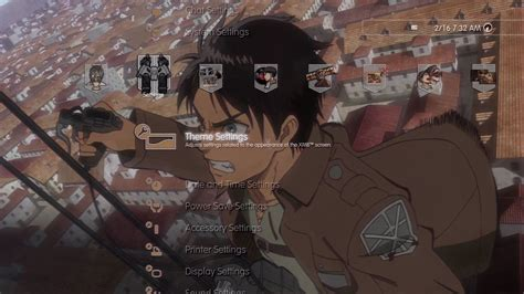 theme psp attack on titan attack on titan eren yeager theme on ps3 official