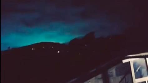 Earthquake Lights | watch new zealand residents capture remarkable earthquake