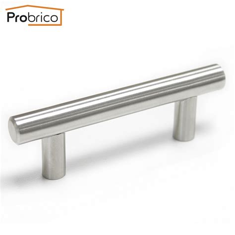 Handle Stainless aliexpress buy probrico kitchen cabinet t bar handle pd201hss64 stainless steel diameter
