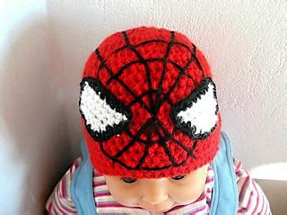 spiderman toque pattern ravelry spiderman hat earflap beanie all sizes pattern