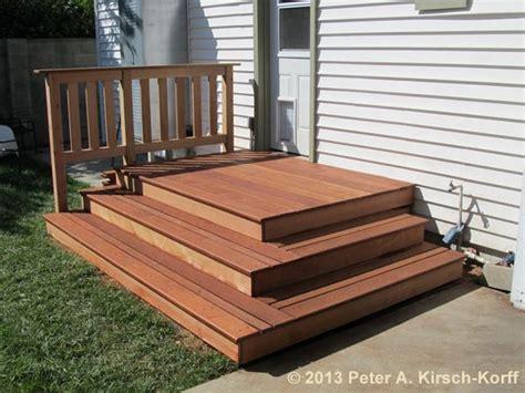 image result    build stairs   door patio