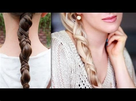 everyday hairstyles for long hair step by step how to do simple ponytail braid long hairstyle for