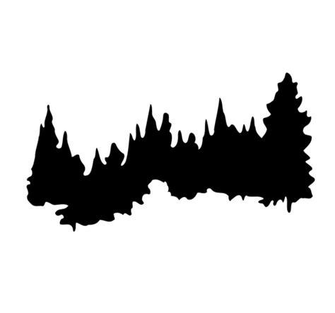 silhouette clip pine tree silhouette clip cliparts co