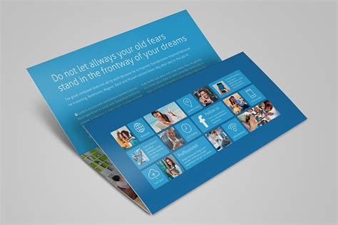 horizontal brochure template metro horizontal tri fold flyer on behance