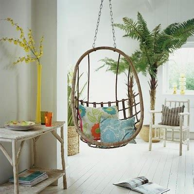 reading swing living room reading nook interesting setting swing beachy