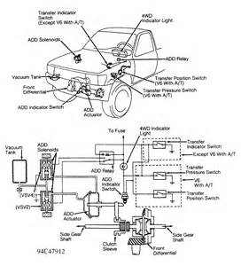 toyota t100 can you show me a diagram of the actuator on the