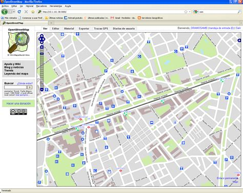 open maps connecting the digital guide of barcelona and open map oms inlab fib
