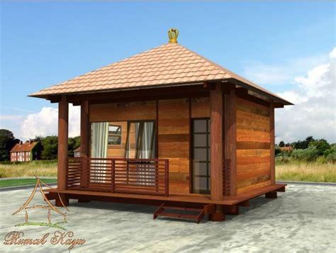 contoh model desain rumah kayu sederhana dirumahkucom