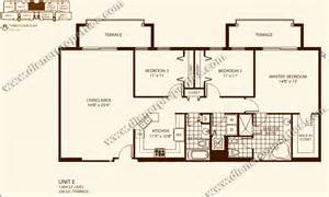 Condominium Floor Plans by Villa Zamora Coral Gables Condo Floor Plans