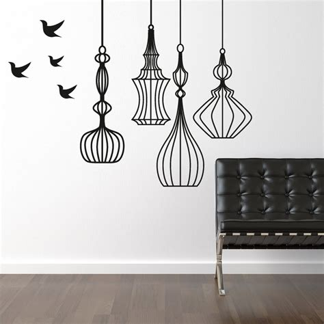 birdcage wall sticker birdcage wall sticker wall chimp uk