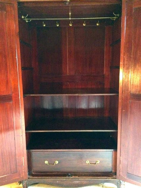 armoire wardrobe mirrored doors antique double wardrobe armoire two door mirrored walnut
