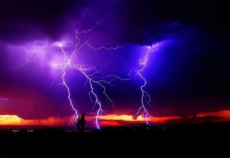 Lightning And Thunder Thunder And Lightning In Albuquerque Pixdaus