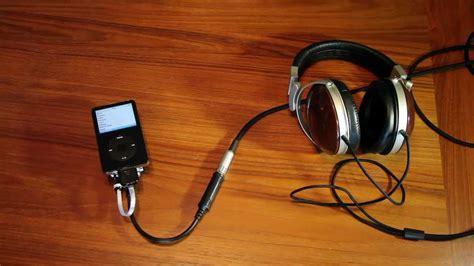 best audiophile headphone dac my portable audiophile ipod setup