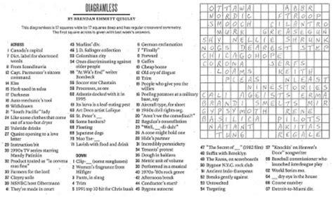 printable diagramless puzzles easy printable crossword puzzles crossword puzzles answers