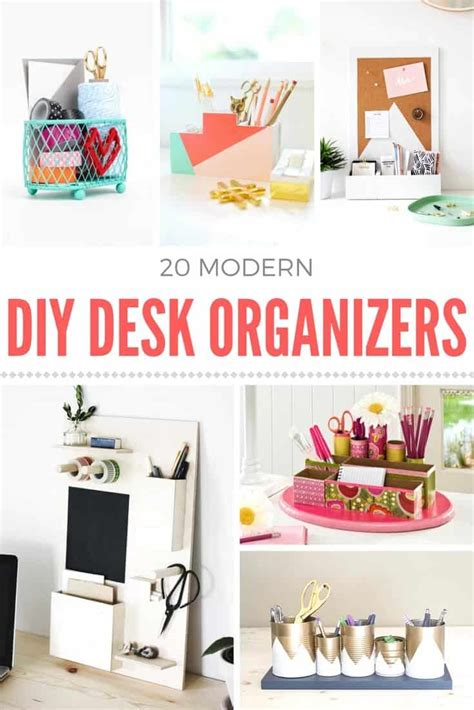 diy desk organizer ideas how to a diy desk organizer mod podge rocks