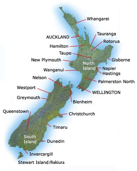 blogger nz new zealand people blog new zealand cities and towns map