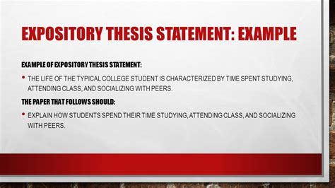 Expository Essay Thesis Statement Exles by Thesis Statements How To Then Do Ppt