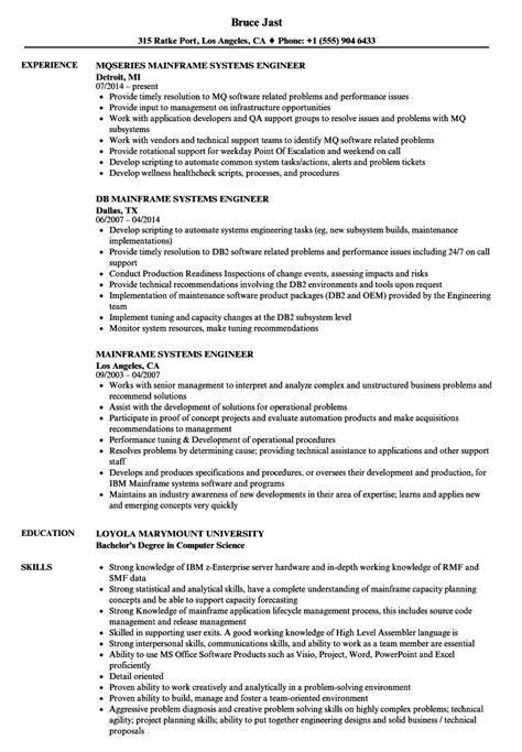 sle resume for 2 years experience in mainframe great mainframe resume images gallery mainframe resume