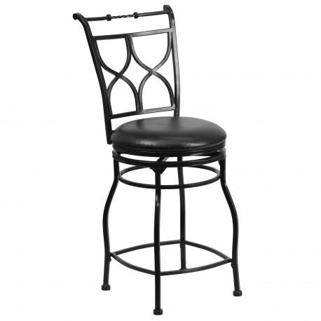claymont black counter height stool barstools metal 24 black metal counter height stool with black leather