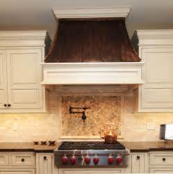 Kitchen Range Hood Designs by Copper Range Hood Traditional Kitchen Chicago By