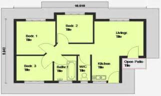 House Plans And Cost To Build Cheap 3 Bedroom House Plan 3 Bedroom House Plan South