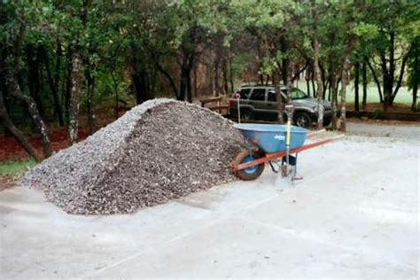 4 Tons Of Gravel Septic