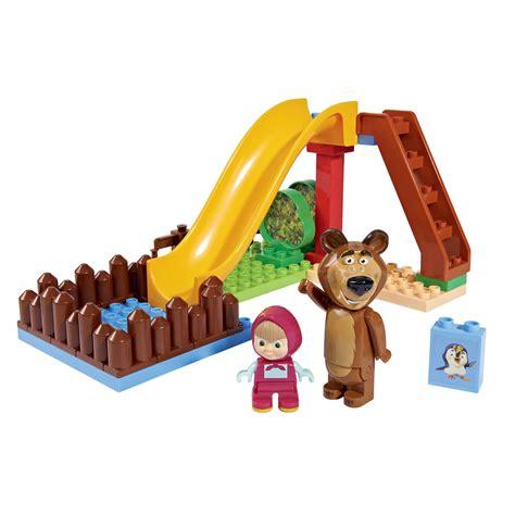 speelgoed plezier playbig bloxx masha en de beer zwembad plezier online