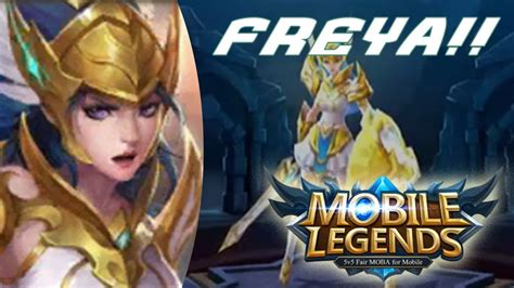 Legend Of Freya freya la valkiria kmanus88 mobile legends