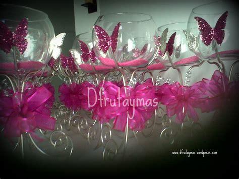 adorno de quince en mariposa centro de mesa con mariposas d 180 fruta y mas