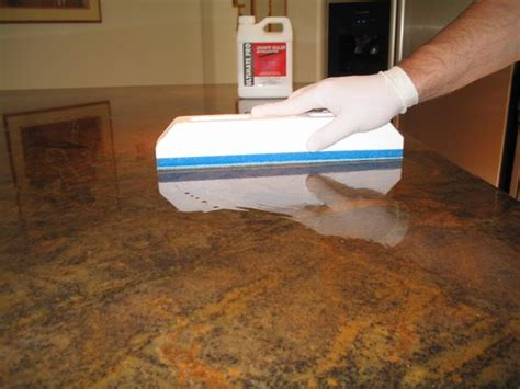 bar top sealer applicator for impregnators sealers