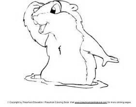 groundhog coloring pages www preschoolcoloringbook groundhog day coloring page