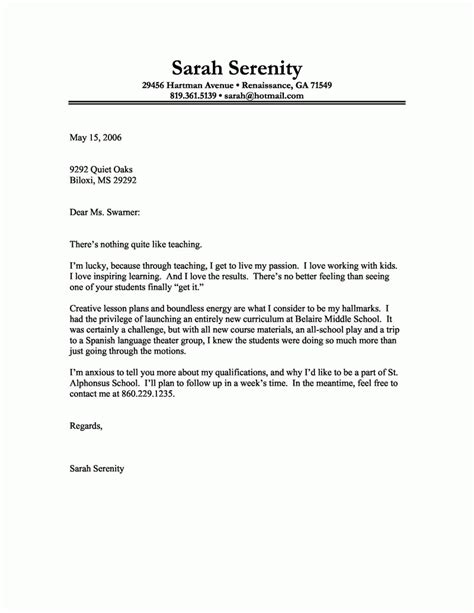 5 basic cover letter template adjustment letter