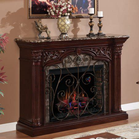 Electric Fireplace Mantel Only by Electric Fireplace Mantel