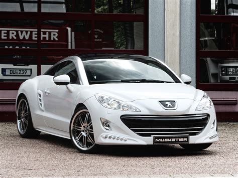 peugeot rcz tuning peugeot rcz by musketier peugeot wallpaper 31466421