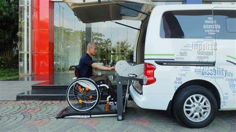 Kursi Roda rentals wav wheelchair accessible vehicle motionaid one stop mobility aids in indonesia