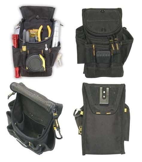 electrician tool belt clc 1523 small ziptop utility maintenance electrician zippered tool belt pouch ebay