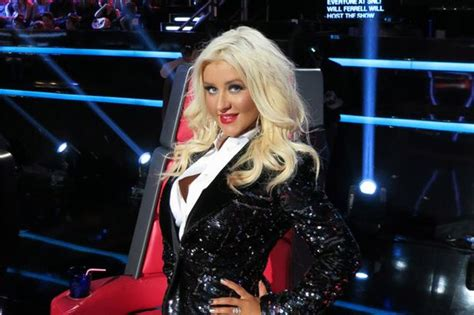 Lepaparazzi News Update Aguileras Sundays by Aguilera Tells Lucky Quot I Was Thin I My