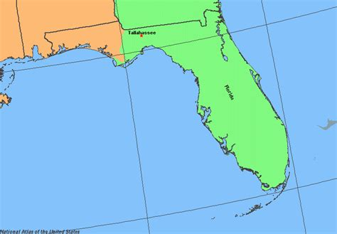 florida time zone map eastern time zone map florida topographic map