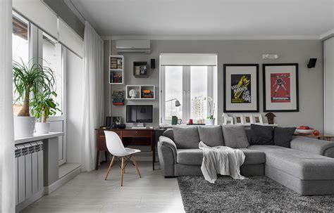 Interior Design For Flat by Modern Minimalist Flat Interior Design